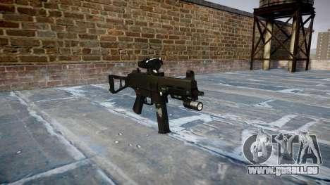 Pistolet UMP45 Fantômes pour GTA 4
