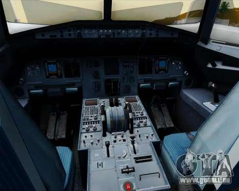 Airbus A320-200 Jetstar Airways pour GTA San Andreas salon