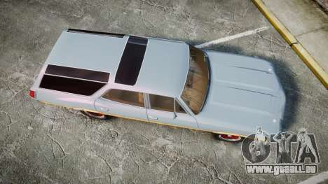 Oldsmobile Vista Cruiser 1972 Rims1 Tree6 pour GTA 4 est un droit