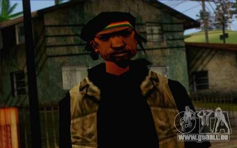 Yardies from GTA Vice City Skin 1 für GTA San Andreas dritten Screenshot