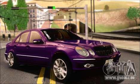 Mercedes-Benz E320 für GTA San Andreas