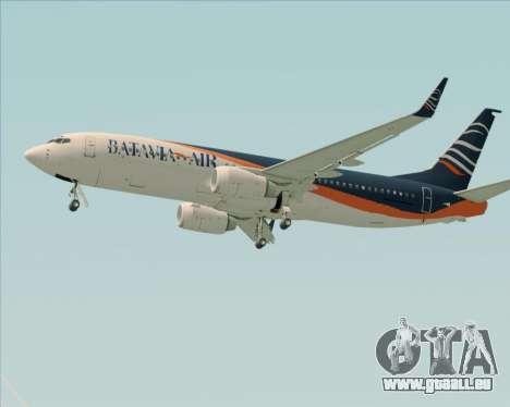 Boeing 737-800 Batavia Air (New Livery) für GTA San Andreas Innen
