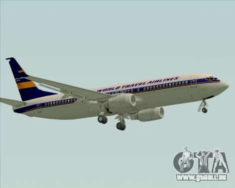 Boeing 737-800 World Travel Airlines (WTA) für GTA San Andreas linke Ansicht