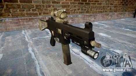 Pistolet UMP45 UNE armée de fans le cuir AU pour GTA 4