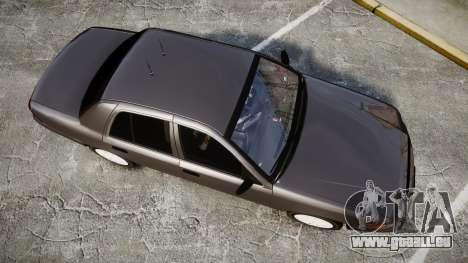 Ford Crown Victoria Unmarked Police [ELS] pour GTA 4 est un droit