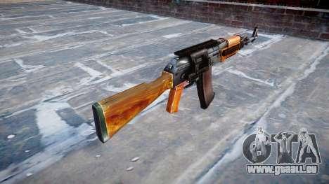 Kalachnikov modernisé (AKM) pour GTA 4 secondes d'écran