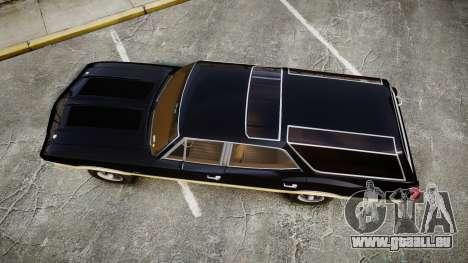 Oldsmobile Vista Cruiser 1972 Rims2 Tree1 pour GTA 4 est un droit