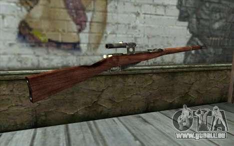 Die Gewehre Mosin (Battlefield: Vietnam) für GTA San Andreas zweiten Screenshot