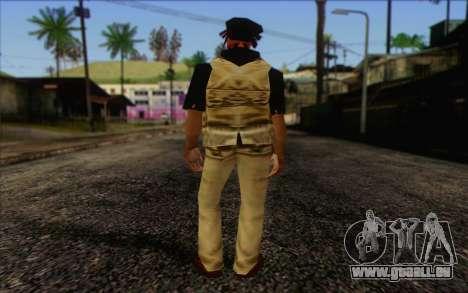 Yardies from GTA Vice City Skin 1 für GTA San Andreas zweiten Screenshot