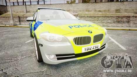 BMW 530d F11 Metropolitan Police [ELS] für GTA 4