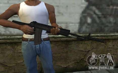 Machine Nikonov pour GTA San Andreas troisième écran