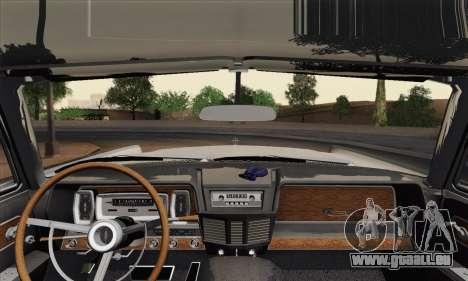 Lincoln Continental-Limousine (53А) 1962 (HQLM) für GTA San Andreas zurück linke Ansicht