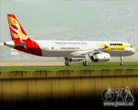 Airbus A321-200 Qantas (Wallabies Livery) pour GTA San Andreas