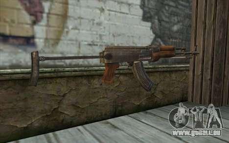 Тип 56-1 (АКМС) de Battlefield: Vietnam pour GTA San Andreas deuxième écran