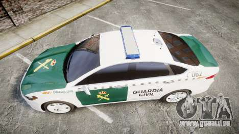 Ford Mondeo 2014 Guardia Civil Cops [ELS] für GTA 4 rechte Ansicht