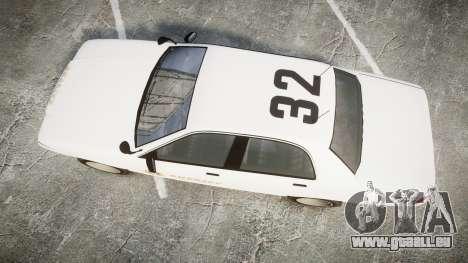 GTA V Vapid Cruiser LSS White [ELS] Slicktop für GTA 4 rechte Ansicht