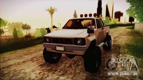Karin Rebel 4x4 GTA 5 pour GTA San Andreas