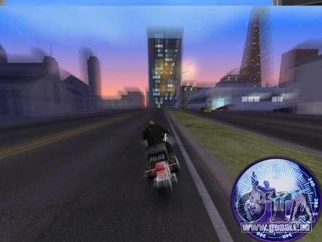 Compteur de vitesse HITMAN pour GTA San Andreas troisième écran