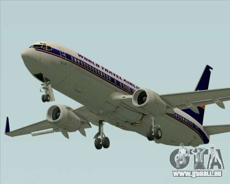 Boeing 737-800 World Travel Airlines (WTA) pour GTA San Andreas roue