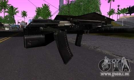 La guerre pour GTA San Andreas deuxième écran