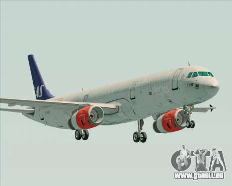 Airbus A321-200 Scandinavian Airlines System pour GTA San Andreas
