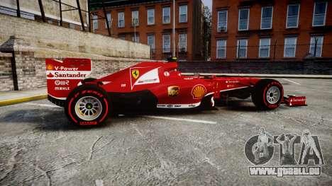 Ferrari F138 v2.0 [RIV] Massa TSSD für GTA 4 linke Ansicht