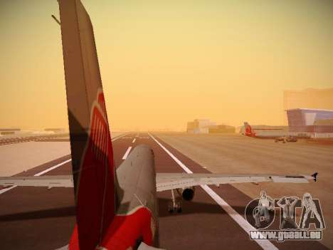 Airbus A321-232 jetBlue Boston Red Sox pour GTA San Andreas