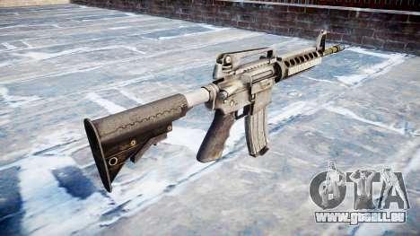 Automatische M4A1 carbine für GTA 4 Sekunden Bildschirm