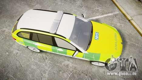 BMW 530d F11 Ambulance [ELS] für GTA 4 rechte Ansicht