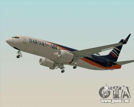 Boeing 737-800 Batavia Air (New Livery) pour GTA San Andreas vue de droite