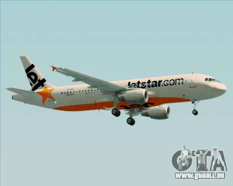 Airbus A320-200 Jetstar Airways pour GTA San Andreas vue intérieure
