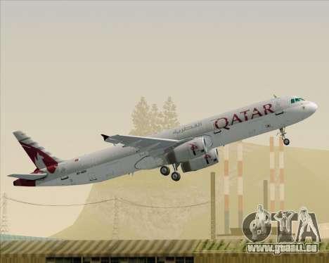 Airbus A321-200 Qatar Airways pour GTA San Andreas