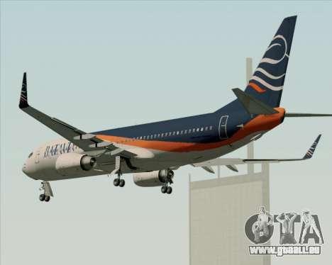 Boeing 737-800 Batavia Air (New Livery) für GTA San Andreas Räder