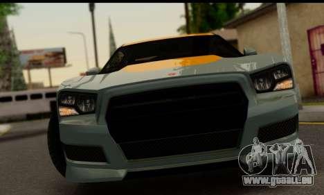 Bravado Buffalo S (IVF) für GTA San Andreas zurück linke Ansicht