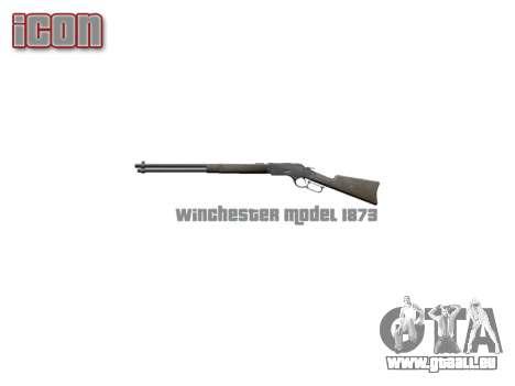 Rifle Winchester Model 1873 icon2 für GTA 4 dritte Screenshot