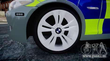 BMW 530d F11 Metropolitan Police [ELS] SEG für GTA 4 rechte Ansicht