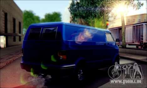 GTA 5 Youga pour GTA San Andreas sur la vue arrière gauche
