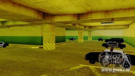 De nouveaux véhicules dans le LVPD pour GTA San Andreas quatrième écran