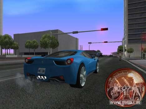 Tacho HITMAN für GTA San Andreas