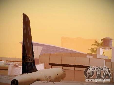 Airbus A321-232 Lets talk about Blue für GTA San Andreas Seitenansicht