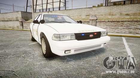 GTA V Vapid Cruiser LSS White [ELS] Slicktop pour GTA 4