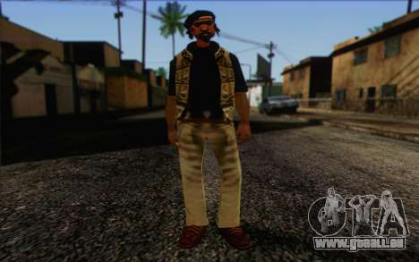 Yardies from GTA Vice City Skin 1 pour GTA San Andreas