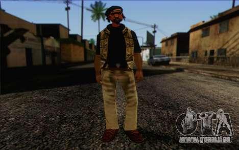 Yardies from GTA Vice City Skin 1 pour GTA San Andreas