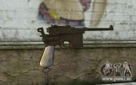 Mauser C96 v1 für GTA San Andreas zweiten Screenshot