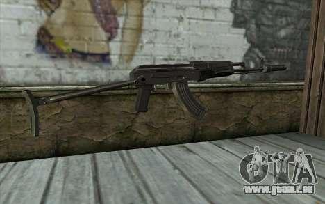 AKMS avec des SEINS pour GTA San Andreas deuxième écran
