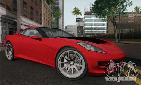 GTA 5 Invetero Coquette pour GTA San Andreas