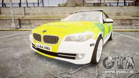 BMW 530d F11 Ambulance [ELS] pour GTA 4