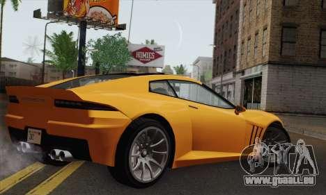 GTA 5 Invetero Coquette (IVF) für GTA San Andreas linke Ansicht