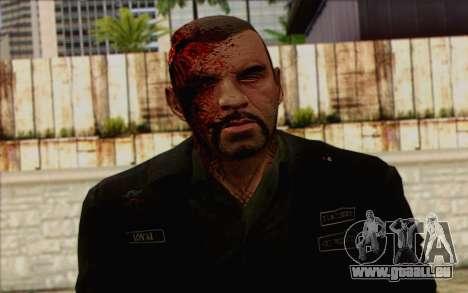 Johnny Klebitz From GTA 5 pour GTA San Andreas troisième écran