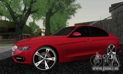 BMW 3 Series F30 2013 für GTA San Andreas